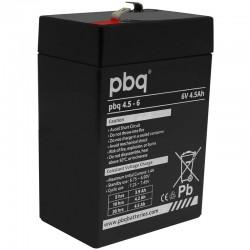 pbq Standard Bleiakku 4.5-6 - 6V - 4.5Ah / T1_9958