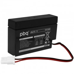 pbq 0.8-12 mit AMP-Connector Blei Akku Standard_9959