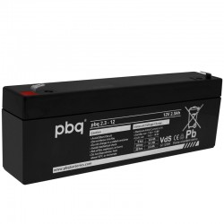 pbq Standard Bleiakku 2.3-12 - 12V - 2.3Ah_9960