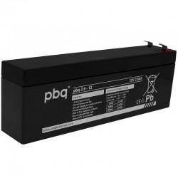 pbq Standard Bleiakku 2.6-12 - 12V - 2.6Ah_9963