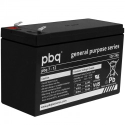 pbq Standard Bleiakku 7-12 - 12V - 7Ah - T1_9966