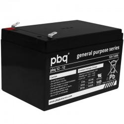 pbq Standard Bleiakku 12-12 - 12V - 12Ah_9967