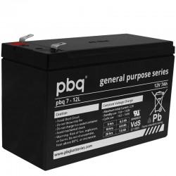pbq Standard Bleiakku 7-12L - 12V - 7Ah - T2_9969