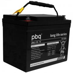 pbq Long-Life Bleiakku L 33-12 - 12V - 33Ah_9971